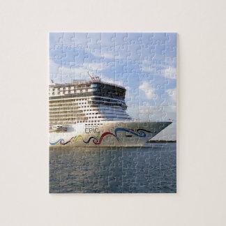 Quebra-cabeça Arco decorado do navio de cruzeiros