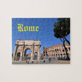 Quebra-cabeça Arco em Roma, Italia
