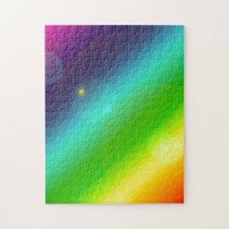 Quebra-cabeça Arco-íris borbulhante