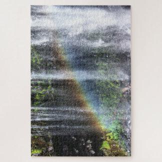 """Quebra-cabeça Arco-íris da cachoeira, quebra-cabeça, 20"""" PCes de"""