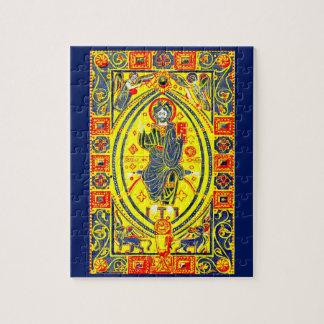 Quebra-cabeça Arte popular bizantina Jesus