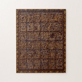 Quebra-cabeça Arte popular maia do painel dos Hieroglyphics