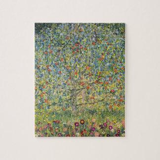 Quebra-cabeça Árvore de Apple por Gustavo Klimt, arte Nouveau do