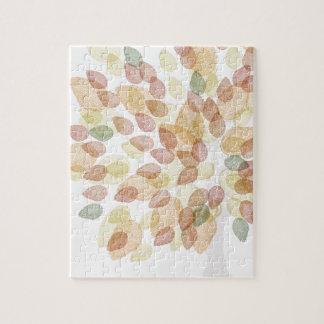 Quebra-cabeça Árvore de vidoeiro em cores da queda