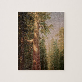 Quebra-cabeça As grandes árvores, bosque de Mariposa, CA por