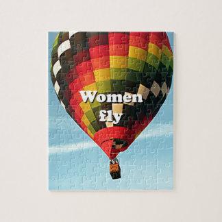 Quebra-cabeça As mulheres voam: balão de ar quente