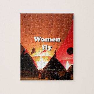 Quebra-cabeça As mulheres voam: balão de ar quente 2