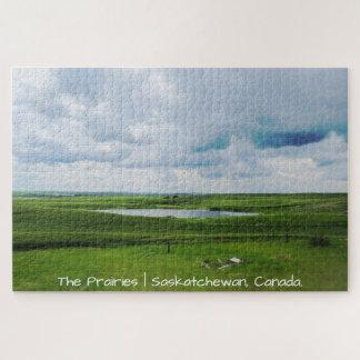 Quebra-cabeça As pradarias | Saskatchewan, Canadá