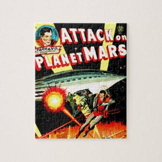 Quebra-cabeça Ataque no planeta Marte