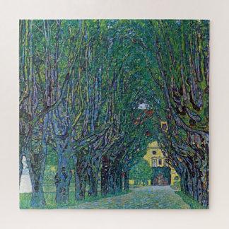 Quebra-cabeça Avenida no parque de Schloss Kammer por Gustavo