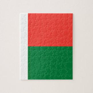 Quebra-cabeça Baixo custo! Bandeira de Madagascar