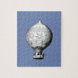 Quebra-cabeça Balão de ar quente do vintage de Montgolfier