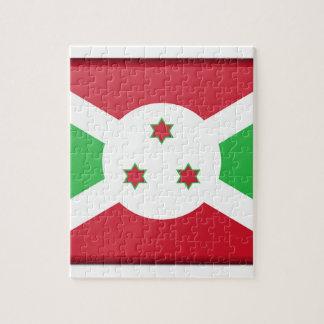 Quebra-cabeça Bandeira de Burundi