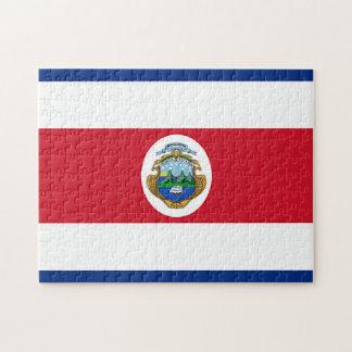 Quebra-cabeça Bandeira de Costa Rica