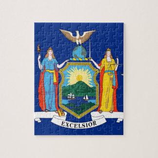 Quebra-cabeça Bandeira de New York