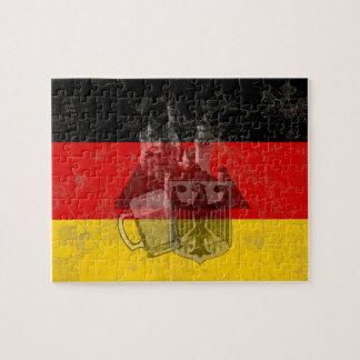 Quebra-cabeça Bandeira e símbolos de Alemanha ID152