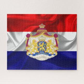 Quebra-cabeça Bandeira holandesa