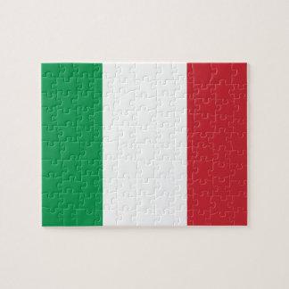 Quebra-cabeça Bandeira nacional do mundo de Italia