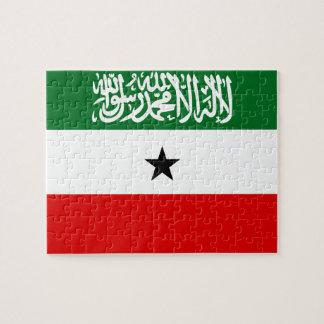 Quebra-cabeça Bandeira nacional do mundo de Somaliland