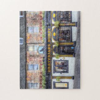 Quebra-cabeça Bar Edimburgo de Greyfriars Bobby