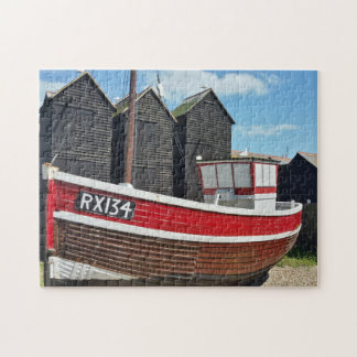 Quebra-cabeça Barcos de pesca em Hastings Sussex