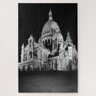 Quebra-cabeça Basílica de France Paris Sacre Coeur do vintage