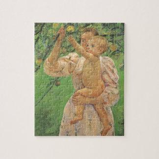 Quebra-cabeça Bebê que alcança para Apple por Mary Cassatt