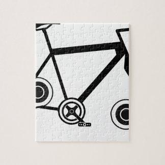Quebra-cabeça Bicicleta do girador da inquietação