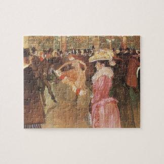 Quebra-cabeça Bola no clube nocturno por Toulouse Lautrec