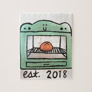 Quebra-cabeça Bolo no forno 2018