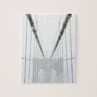 Quebra-cabeça Brooklyn preto e branco Brige