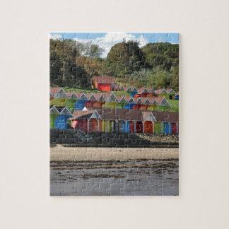 Quebra-cabeça Cabanas da praia de Scarborough