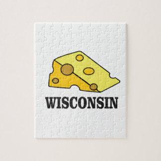 Quebra-cabeça Cabeça do queijo de Wisconsin