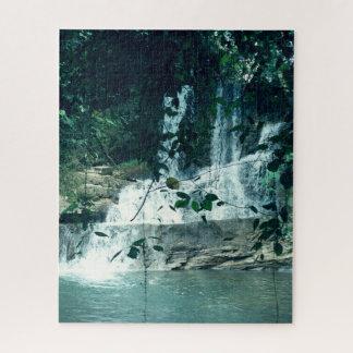 Quebra-cabeça Cachoeira tropical