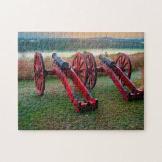 Quebra-cabeça Campo de batalha Maryland. de Antietam Saratoga