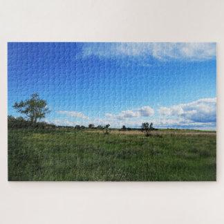Quebra-cabeça Campos de Saskatchewan
