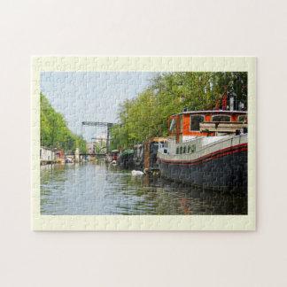 Quebra-cabeça Canal em Amsterdão