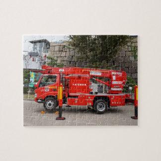 Quebra-cabeça Carro de bombeiros japonês