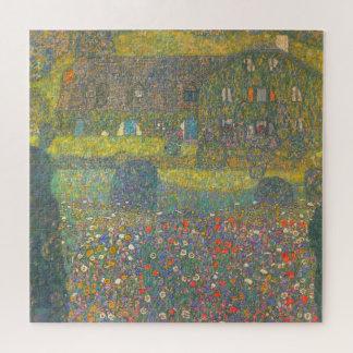 Quebra-cabeça Casa de campo pelo Attersee por Gustavo Klimt