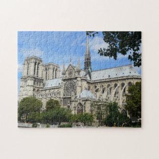 Quebra-cabeça Catedral de Notre Dame em Paris