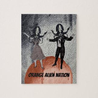 Quebra-cabeça Celebração da dança dos aliens