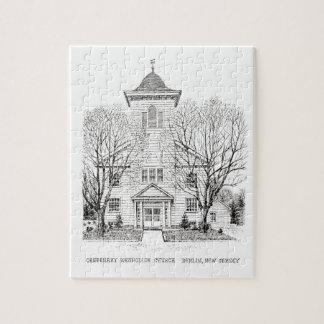 Quebra-cabeça centenário da igreja metodista unida