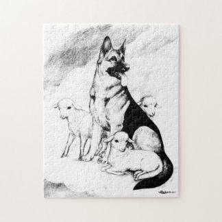Quebra-cabeça Céu do cão, o rebanho do mestre