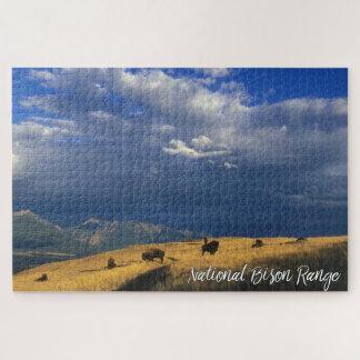 Quebra-cabeça Céu nacional das nuvens das montanhas da escala do