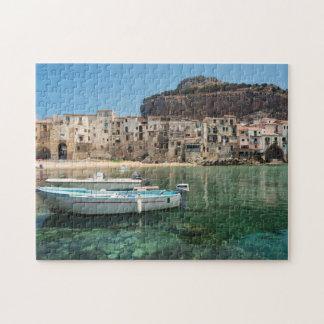 Quebra-cabeça Cidade de Cefalu em Sicília