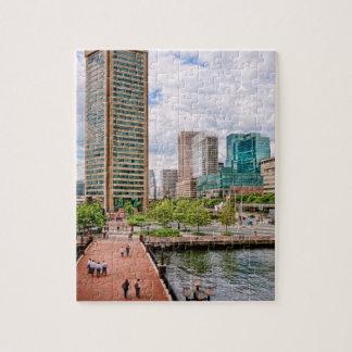 Quebra-cabeça Cidade - lugar do porto - World Trade Center de