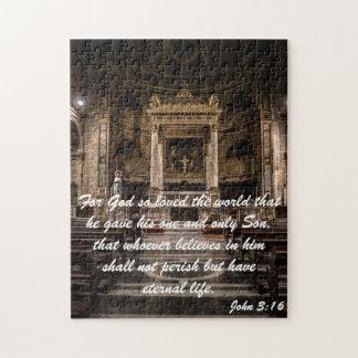 Quebra-cabeça Citações do 3:16 de John