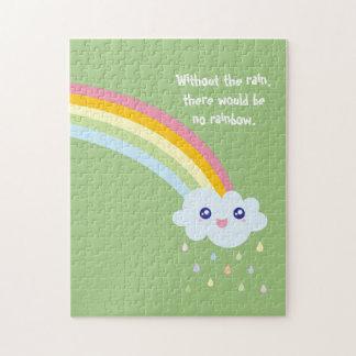 Quebra-cabeça Citações inspiradas e inspiradores do arco-íris