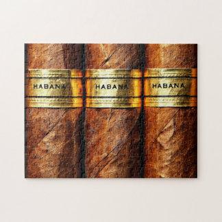 Quebra-cabeça Clube cubano do fumo do Vip do ouro de Habana dos