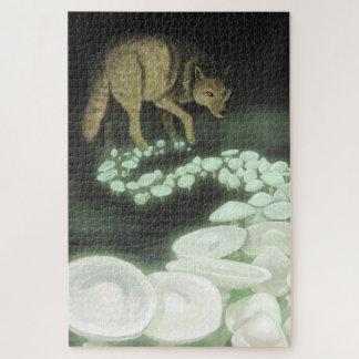 Quebra-cabeça Cogumelos de arrasto da morte do lobo